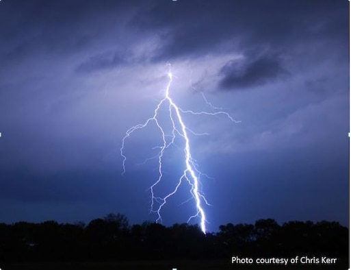 Safety must be the top priority for service members and their families at MacDill Air Force Base, Florida. Mid-June to mid-Sept. is when most lightning occurs in the Tampa Bay area, seek shelter immediately if caught outside during a storm.