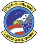 1st Combat Camera Squadron patch.