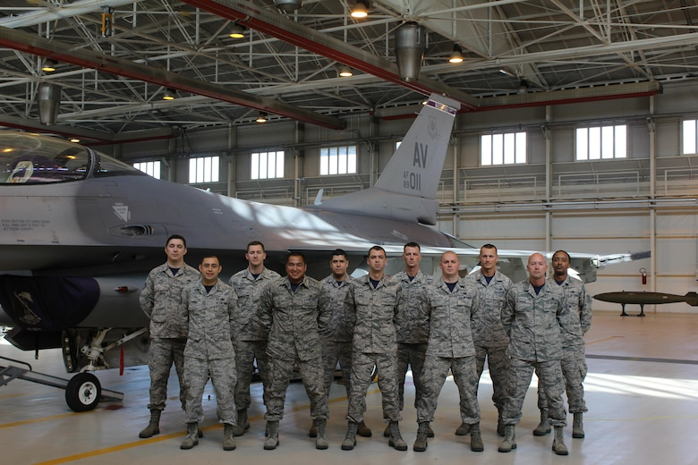 "Detachment 24 of the 372d Training Squadron is assigned to Aviano Air Base, Italy home of the 31st  Fighter Wing and provides maintenance training on the F-16 ""Fighting Falcon."""