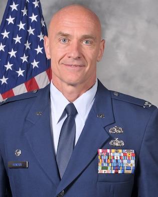 Colonel Joshua Hendrix, commander of the 126th Maintenance Group.