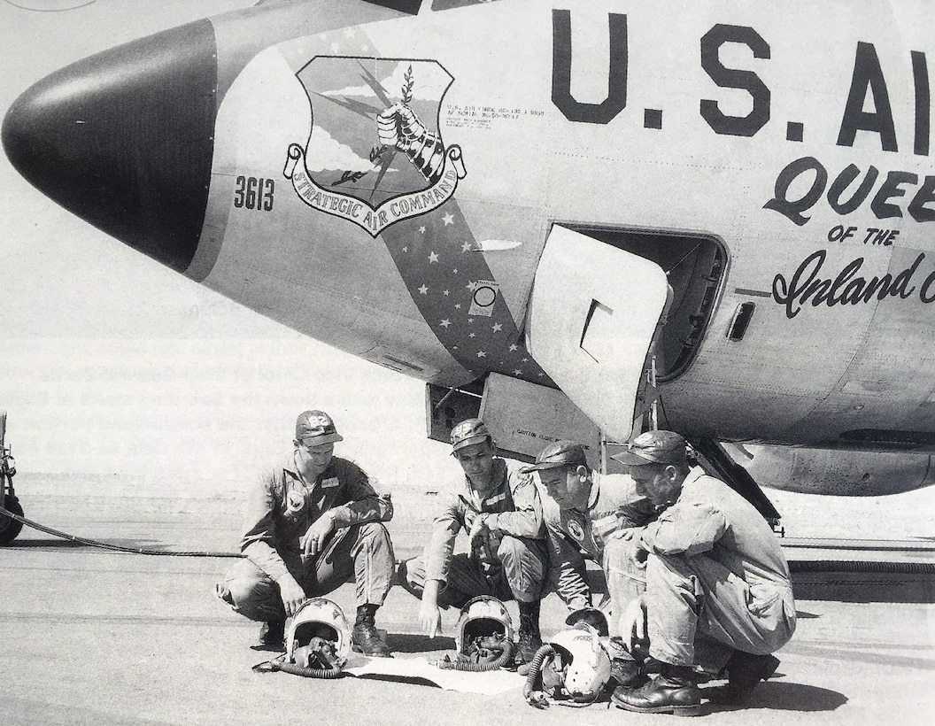 """The first KC-135 Stratotanker assigned to Fairchild Air Force Base in 1958 was named """"The Queen of the Inland Empire."""" This year the Air Force celebrates the 60th birthday of the KC-135. (Courtesy Photo)"""