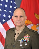 Colonel Eric Livingston was born in Ottumwa, Iowa and enlisted in the Marine Corps in 1987. During his enlistment he attained the rank of sergeant as the Mortar Section Leader with 2d Battalion, 24th Marines, and served in Operations Desert Storm/Desert Shield. He completed Officer Candidate School Platoon Leaders Class in 1992 and graduated from the University of Iowa in 1993 with a Bachelor's degree in psychology. Upon graduation, he was commissioned as a second lieutenant in the United States Marine Corps.  2ndLt Livingston attended The Basic School (TBS) in Quantico, Virginia, graduating with honors from Bravo Company 2-94. Following graduation from TBS, he was assigned to 2d Supply Battalion, 2d Force Service Support Group, Camp Lejeune, North Carolina for on-the-job training as a supply officer.  In December 1995, 1stLt Livingston graduated from the Ground Supply Officers Course and reported to Joint Task Force-160 in Guantanamo Bay, Cuba, as the assistant J-4, supply officer and the comptroller for the Joint Logistics Support Group (JLSG) during Operation Sea Signal. After the JLSG disbanded, 1stLt Livingston returned to 2d Supply Battalion to serve as the battalion organic supply officer and later assumed the duties as the commanding officer for Headquarters and Services Company, 2d Supply Battalion.   In December 1998, Captain Livingston assumed duties as the Supply Management Analysis Team, officer-in-charge for the Materiel Readiness Branch, 3d Marine Division, Okinawa, Japan. During his deployment with 3d Marine Division he also served as the Logistics Readiness Inspection Team Coordinator and later as the Assistant Division Supply Officer.  In December 2001, Captain Livingston departed 3d Marine Division to attend the Combined Logistics Officer's Advance Course, US Army Logistics Management College, Ft Lee, Virginia. After graduation he executed follow-on assignment to Marine Corps Combat Development Command, Quantico, Virginia where he worked