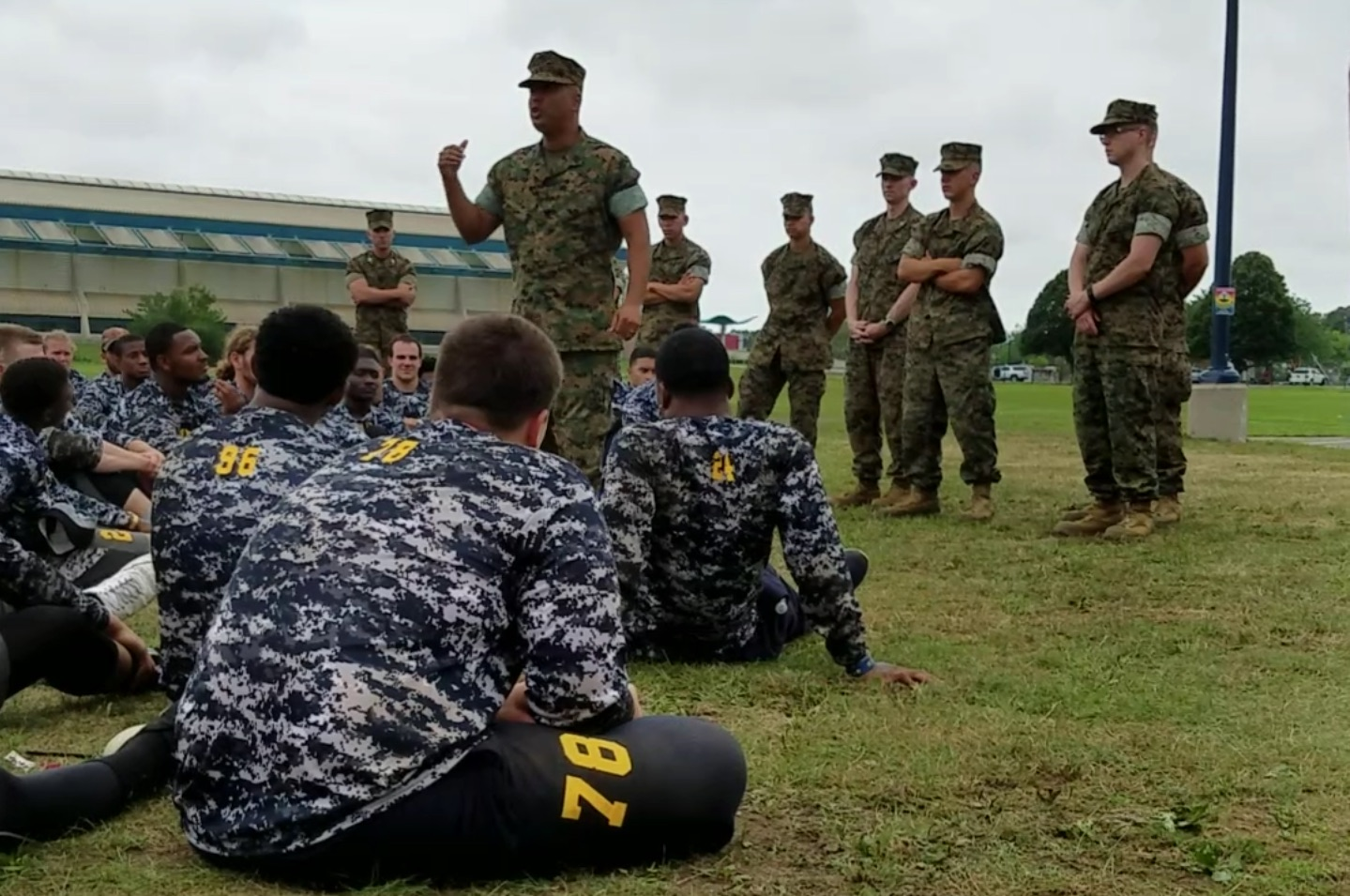 Mcrc photos - Becoming a marine officer ...