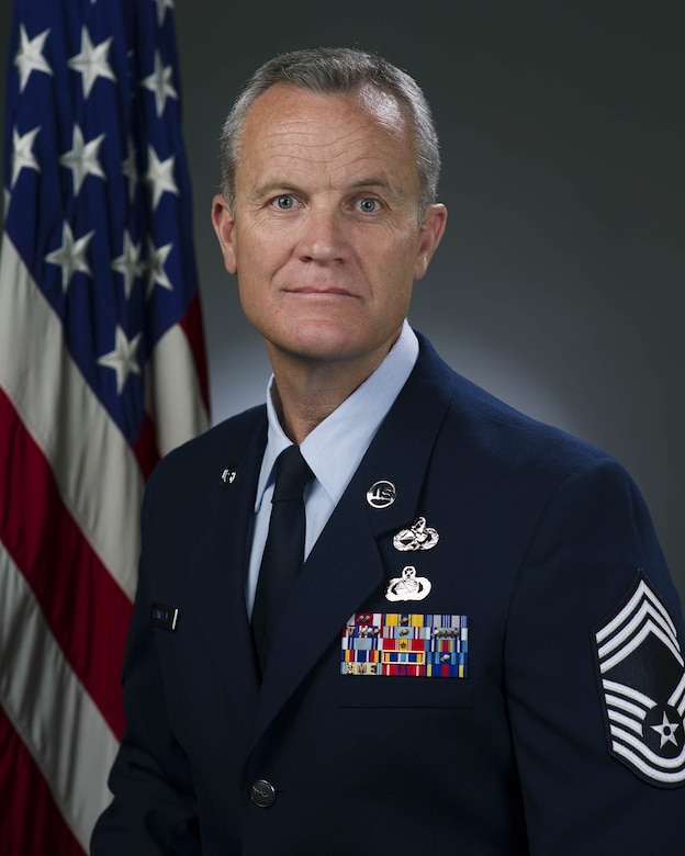 Chief Master Sgt. James E. Standley, 349th Maintenance Group Superintendent