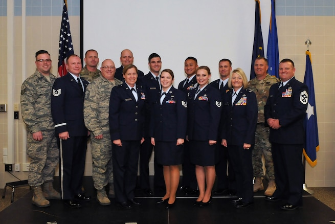 Thirty Utah Air National Guard members were awarded 31 degrees from the Community College of the Air Force during a graduation ceremony held at Roland R. Wright Air National Guard Base on Dec. 3, 2016. The degrees earned covered 18 different fields of study. (U.S. Air National Guard photo by Staff Sgt. Annie Edwards)