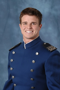 Carson Bird, a 2008 U.S. Air Force Academy graduate, is shown here in a cadet photo. A memorial service for Bird, a retired captain and Air Force Falcons cornerback, is scheduled for Dec. 9, 2016, at the Cadet Chapel. Bird died Nov. 26, 2016 after battling Chondrosarcoma, a rare form of bone cancer. (U.S. Air Force photo)