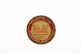 U.S. Army Corps of Engineers, Kansas City District Volunteer Excellence coin