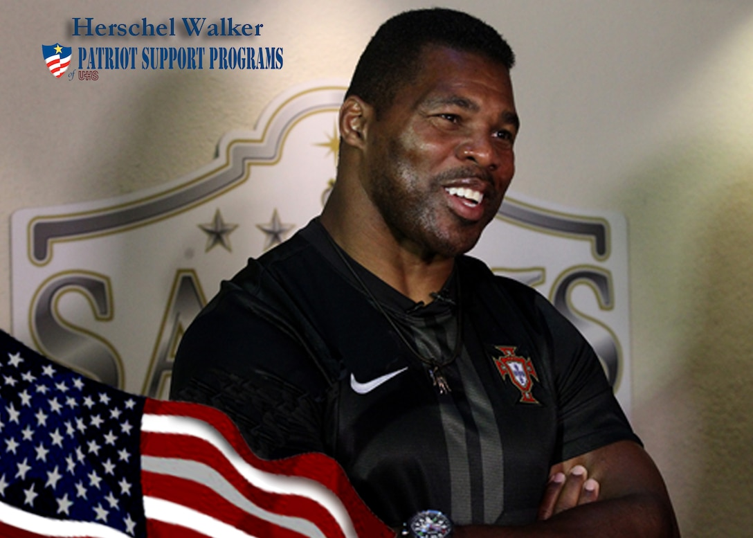 Former Dallas Cowboy and 1982 Heisman Trophy winner Herschel Walker speaks to the media about his personal struggle with mental illness. Walker will be at Kirtland Dec. 13 to speak in three different sessions.