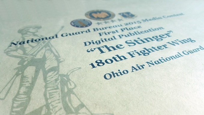 180th Fighter Wing wins big in 2015 Air National Guard and Air Force Media Contests