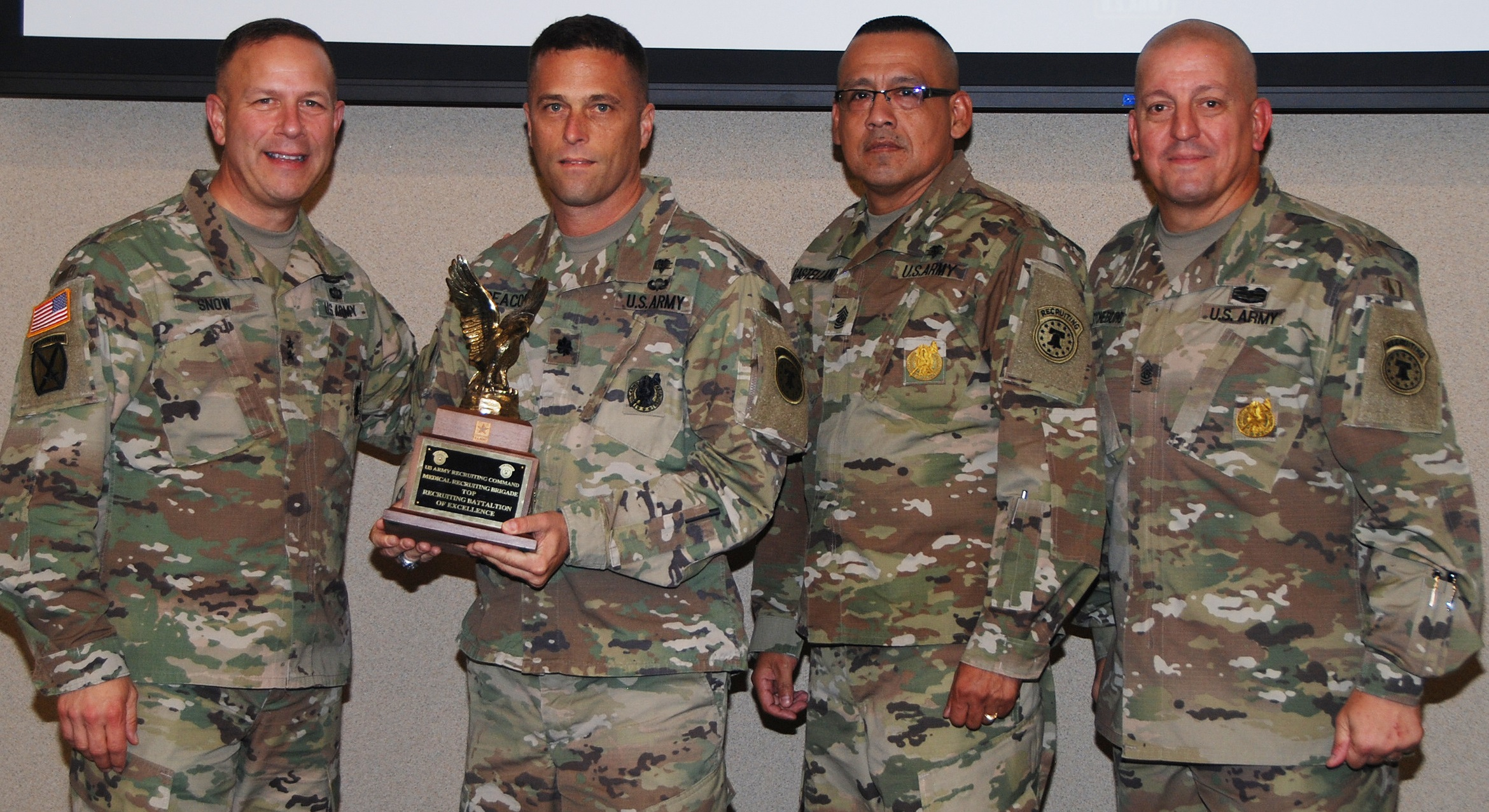 Army S 5th Medical Recruiting Battalion Named Top