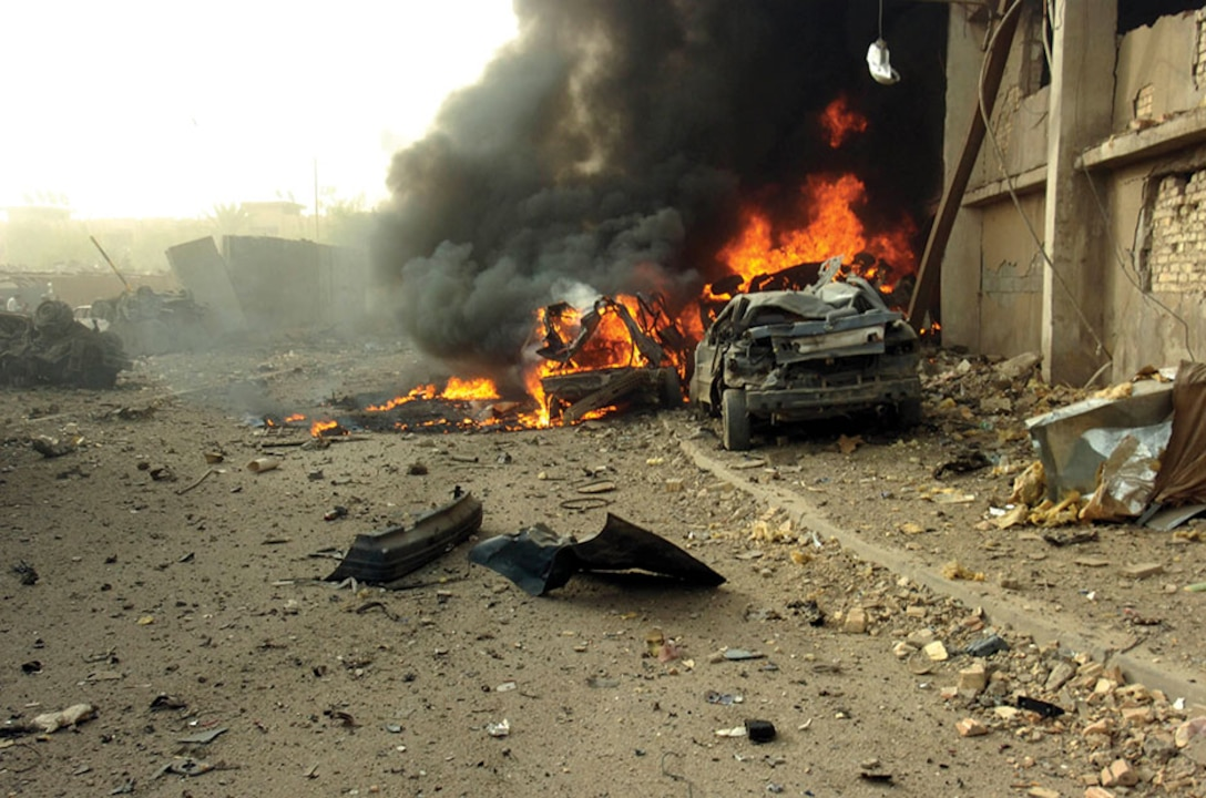 A car bomb set off by al-Qaeda in Iraq, an organization that is highly resilient to special forces high value targeting campaigns.