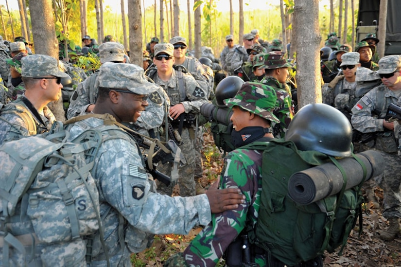 Pacific Pathways 2014, pictured above, represented a prime opportunity for SOF and CF forces to gain experiences training both together and with partner forces.