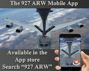 The 927th Air Refueling Wing introduced MacDill Air Force Base's first informative mobile app for smartphones and tablets. Search for 927 ARW in the app store. (U.S. Air Force Graphic by Capt. Joe Simms)