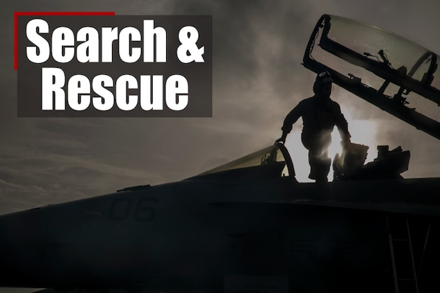 Search and rescue efforts for the pilot who ejected from a Marine F/A-18 December 7 have expanded to a greater radius and include more rescue assets as the daylight increases.