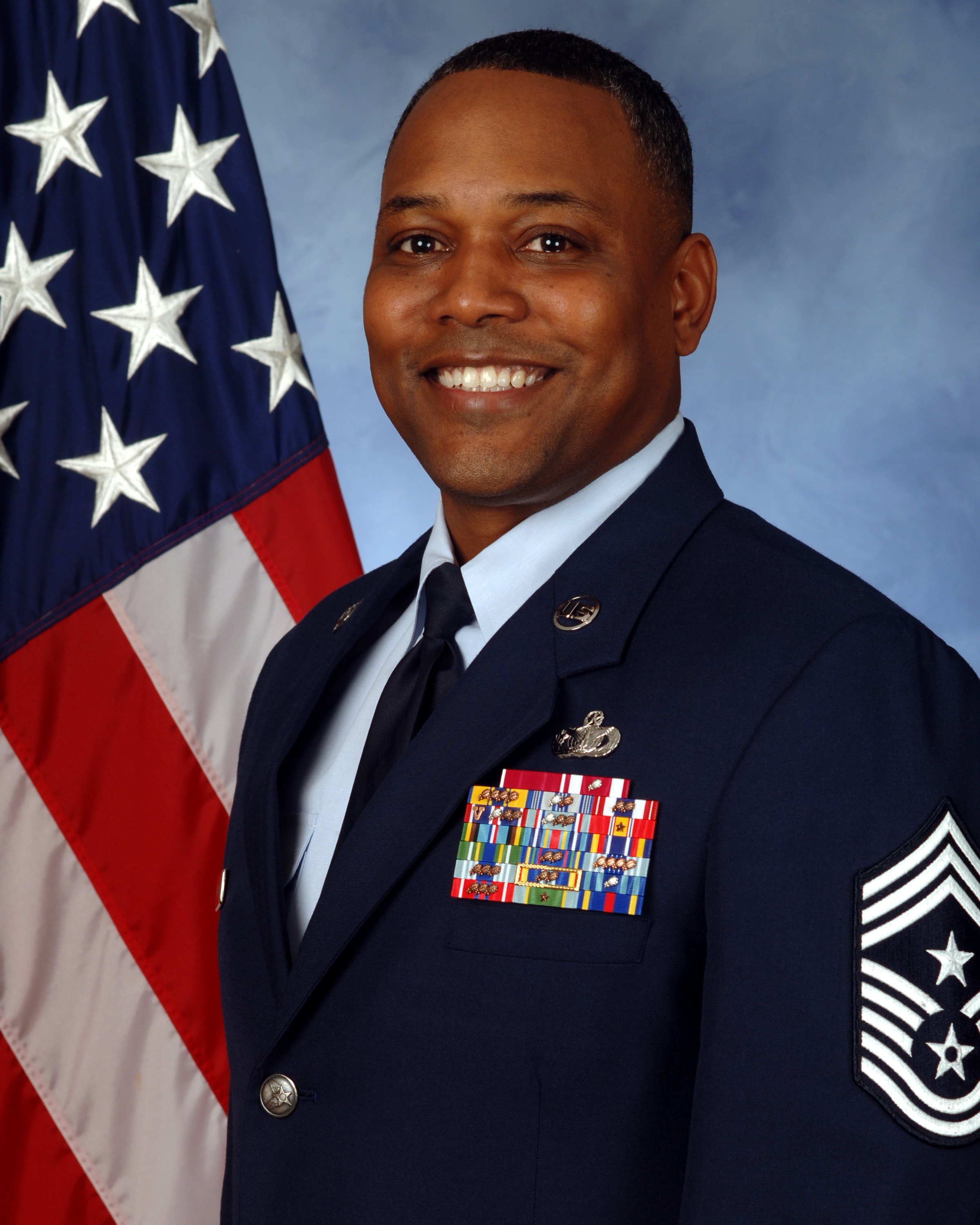 Chief Master Sgt. Anthony W. Johnson