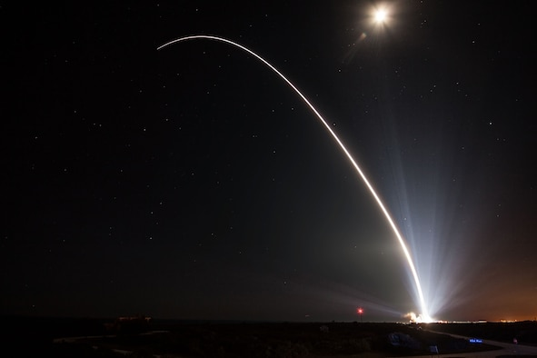 The 45th Space Wing supported United Launch Alliance's successful launch of a Delta IV rocket carrying WGS-8 mission from Space Launch Complex 37 on Cape Canaveral Air Force Station, Fla., Dec. 7, 2016. (Courtesy photo/United Launch Alliance)