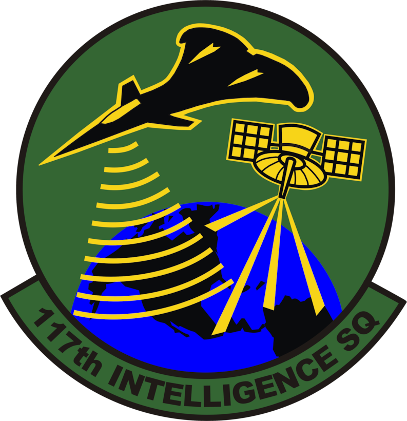 117th Intelligence Squadron patch.