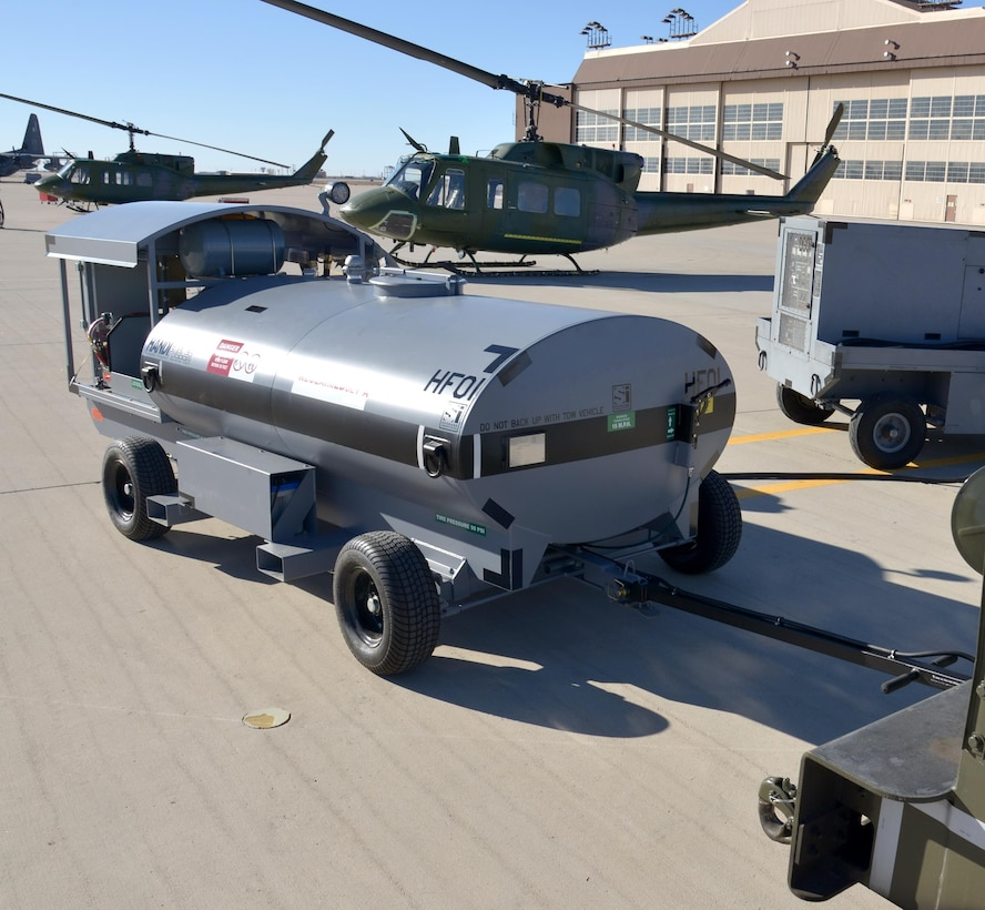 The 58th Maintenance Squadron recently acquired the HandiFueler, a refueling tanker to help improve the Aerospace Ground Equipment Flight's aircraft support mission, saving the government both time and money.