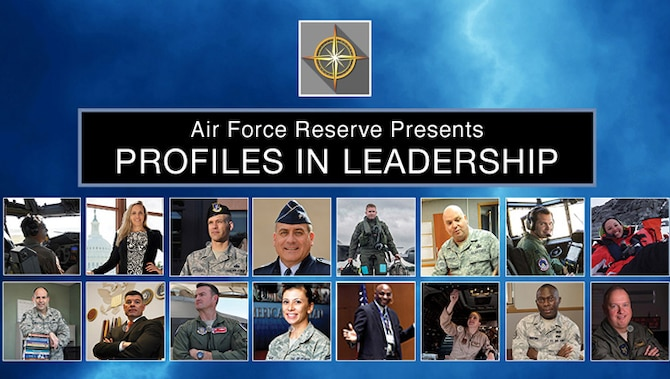 The Office of the Air Force Reserve unveiled 16 portraits of Air Force Reserve leaders in the Profiles in Leadership display here last week. The display celebrates and honors Citizen Airmen's contributions in serving the nation. (U.S. Air Force graphic/Adam Butterick)