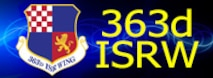 363d ISR Wing button