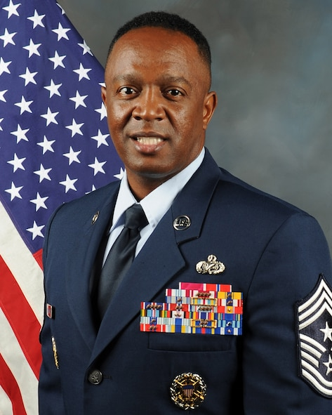 Chief Master Sgt. Calvin Williams official photo