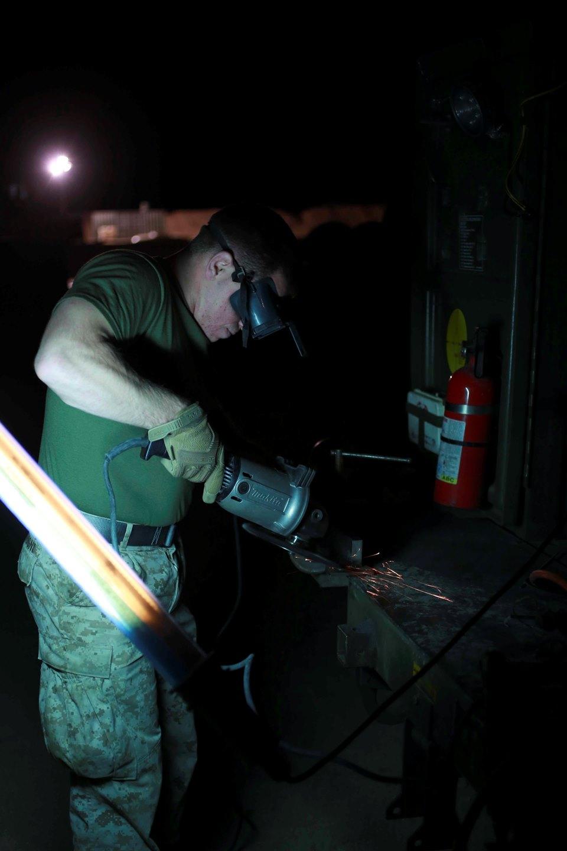home u s marine lance cpl james sonzogni a welder heavy equipment platoon 1st