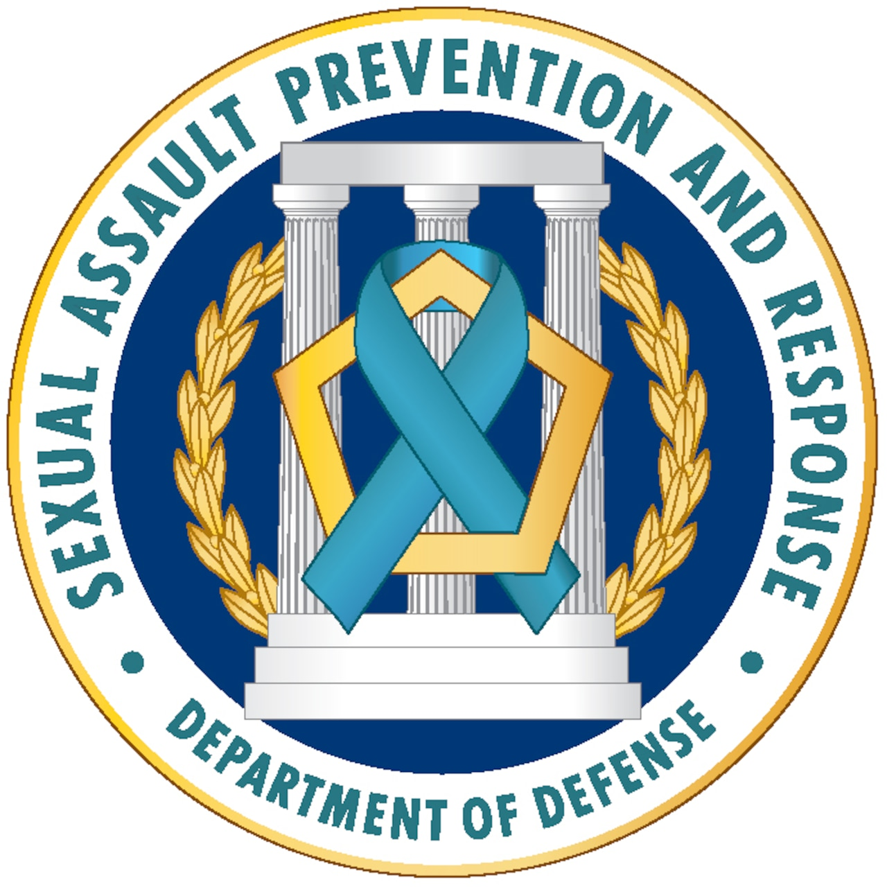Defense Department's Sexual Assault Prevention and Response Office logo. DoD graphic