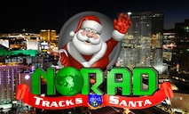 Through satellite systems, high-powered radars and jet-interceptors, NORAD will track Santa Claus as he makes his Christmas Eve journey around the world. (U.S. Air Force graphic)