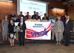Defense Supply Center Richmond, Virginia, was recognized by the Occupational Safety and Health Administration as a Star Worksite in safety under OSHA's Voluntary Protection Program Dec. 12, 2016 in a ceremony in the Frank Lotts Conference Center on the installation.  The OSHA VPP recognizes employers and workers in federal agencies and in private industry who have implemented effective safety and health management systems and maintain injury and illness rates below national Bureau of Labor Statistics averages for the respective industries.