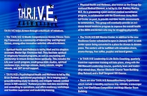 Graphic design to go with T.H.R.I.V.E story.