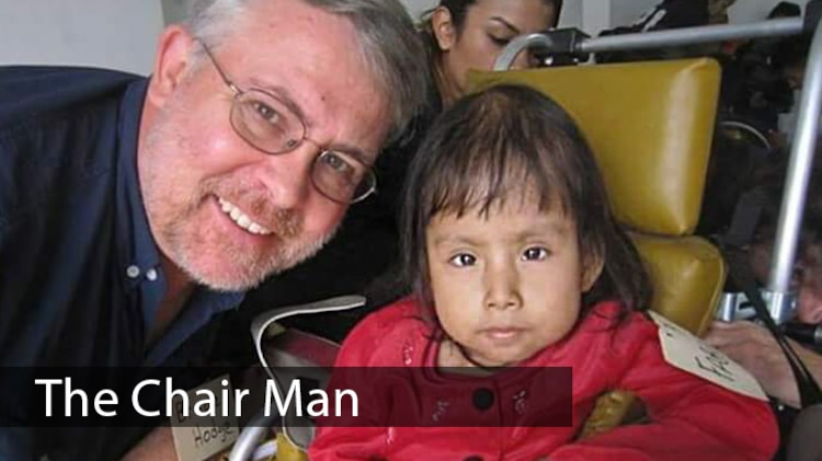 Richard Hodge is an information technology specialist by trade, but spends much of his spare time building and distributing wheelchairs for disabled children, taking care of shelter animals and raising money for the less fortunate. (Courtesy photo)