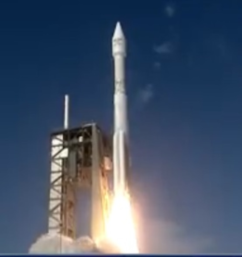 The U.S. Air Force's 45th Space Wing supported United Launch Alliance's successful launch of the EchoStar XIX spacecraft aboard an Atlas V rocket from Launch Complex 41 here Dec. 18 at 2:13 p.m. ET. (Courtesy photo)