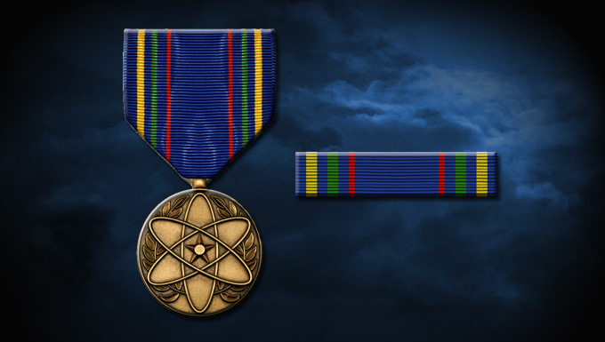 Us Military Medals Chart: Nuclear Deterrence Operations Service Medal e Air Force Personnel ,Chart