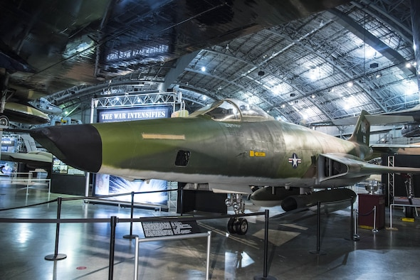 DAYTON, Ohio -- McDonnell RF-101C Voodoo in the Southeast Asia War Gallery at the National Museum of the United States Air Force. (U.S. Air Force photo)