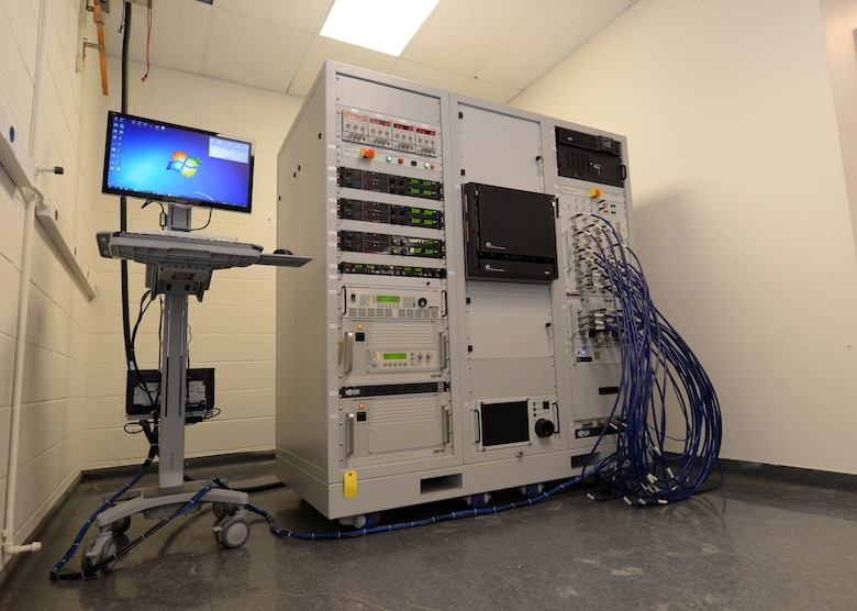 The new Advanced Radar Electronic Warfare Test Station (ARTS) sits in the avionics workstation at Ellsworth Air Force Base, S.D., Dec. 9, 2016. The new station uses less power, generates less heat and is less than half the size of the previous Radar Electronic Warfare stations. (U.S. Air Force photo by Airman 1st Class Donald C. Knechtel)