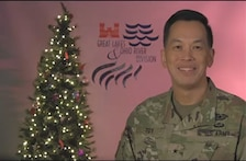 Happy Holidays to the Great Lakes and Ohio River Division team from LRD Commander Brig. Gen. Mark Toy.