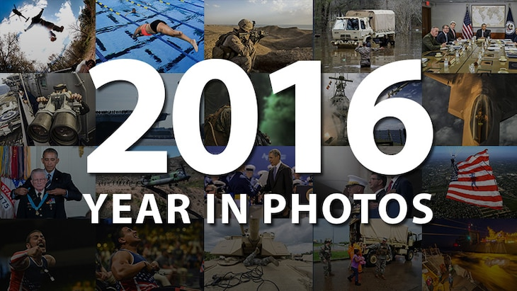 Year in Photos displays this year's most compelling military images of operations, humanitarian efforts, training, defense leaders, athletes and lifestyle.