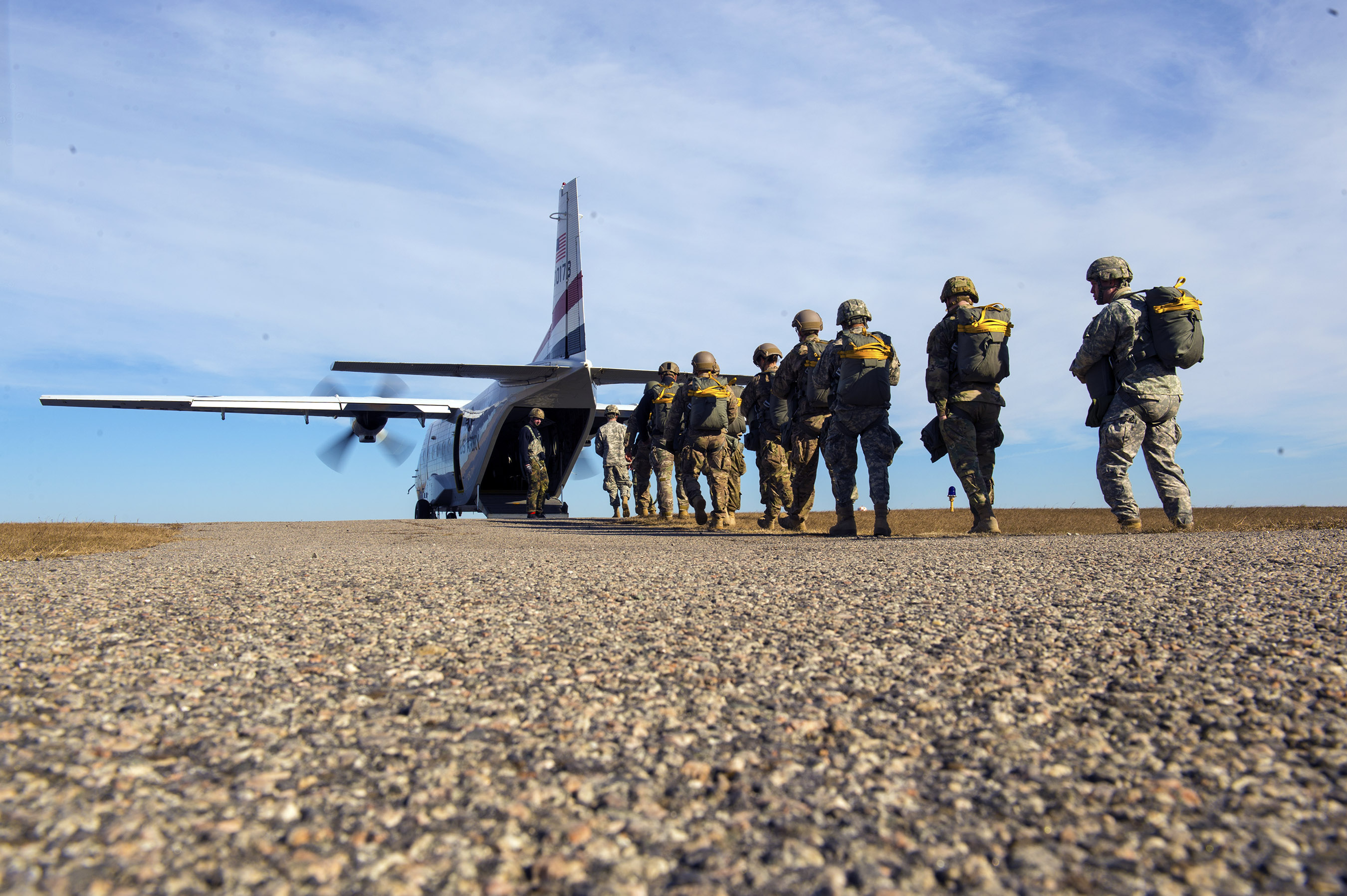 Multinational paratroopers fill NC skies > U S  Air Force > Article