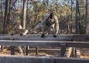 Soldiers participating in the Rubicon Command Team Challenge with the 193rd Infantry Brigade at Fort Jackson, S.C., tackle the six-vaults obstacle, Dec. 9. The Rubicon Command Team Challenge was designed to exercise the leadership and combat skills for the company command teams within the 193rd Infantry Brigade, while at the same time building esprit de corps among the different teams. The challenge was held Dec. 8-9, 2016 at Fort Jackson, S.C. (U.S. Army Reserve photo by Sgt. 1st Class Brian Hamilton/ released)