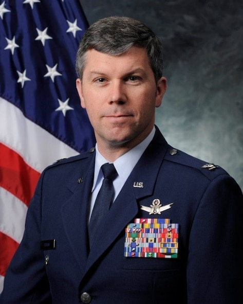 Col. Toby Doran, 50th Operations Group commander