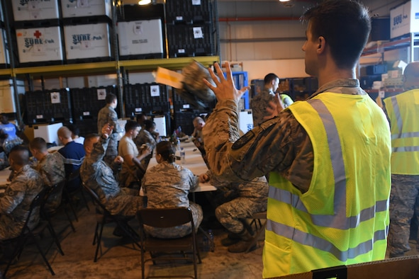 Al Udeid Airmen Volunteer To Build Jfak'S For Theater Operations