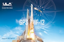A United Launch Alliance Atlas V 401 is scheduled to launch the GPS IIF-12 mission for the U.S. Air Force Feb. 5, 2016, from Space Launch Complex-41 at Cape Canaveral Air Force Station, Fla. The 19-minute launch window opens at 8:38 a.m. EST. (Courtesy graphic/United Launch Alliance) (Released)