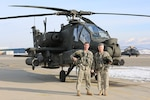 Senior aviator in Utah takes final AH-64 Apache helicopter flight