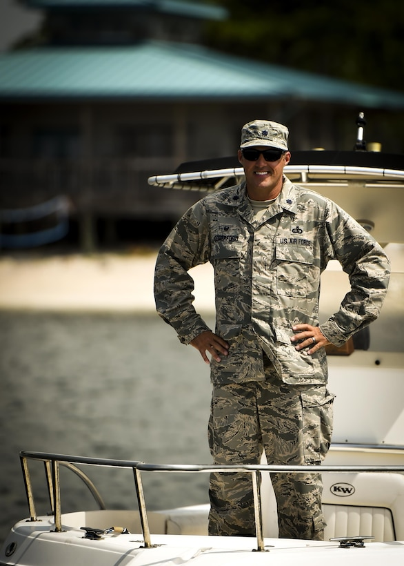 Lt. Col. Lee A. Comerford is the commander of the 1st Special Operations Force Support Squadron.