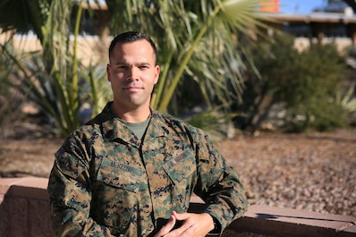 Master Sgt. Todd McKeown, Commanding Generals administrative chief, has served in the Marine Corps for 18 years at duty stations around the world. He attributes his success as a leader to the mentors who have helped him along the way and he strives to keep positively influencing the Marines under his charge. (Official Marine Corps photo by Cpl. Julio McGraw/Released)