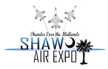 "The 20th Fighter Wing is scheduled to host the Shaw Air Expo and open house, ""Thunder Over the Midlands"", May 21-22 at Shaw Air Force Base, S.C. The air expo, headlined by the Thunderbirds, the U.S. Air Force precision-flying demonstration team, and the Black Daggers, the official U.S. Army Special Operations Command Parachute Demonstration Team gives Shaw the opportunity to demonstrate the capabilities of the Air Force through a variety of aerial demonstrations, displays, and static aircraft displays to those in attendance. (U.S. Air Force graphic)"