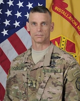 Command Sergeant Major James Collins, Garrison Command Sgt. Maj., Fort Riley