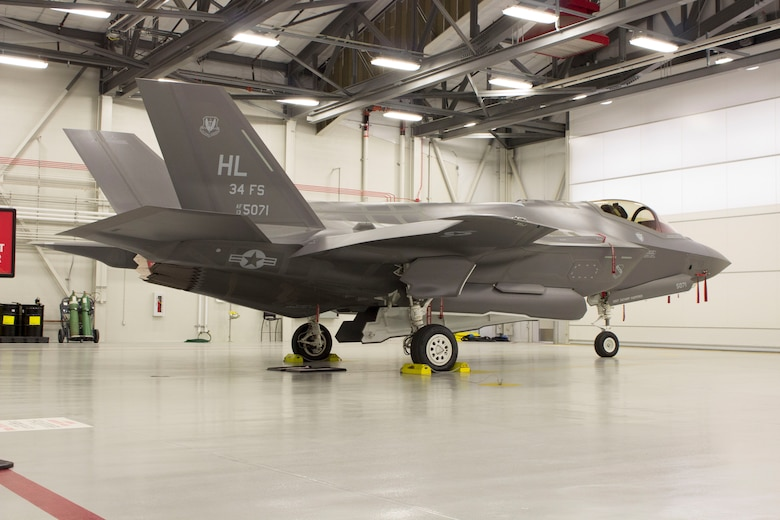 The F-35 Lightning II fighter jet at Hill Air Force Base, Utah. (U.S. Air Force photo/Susan Lawson/released)