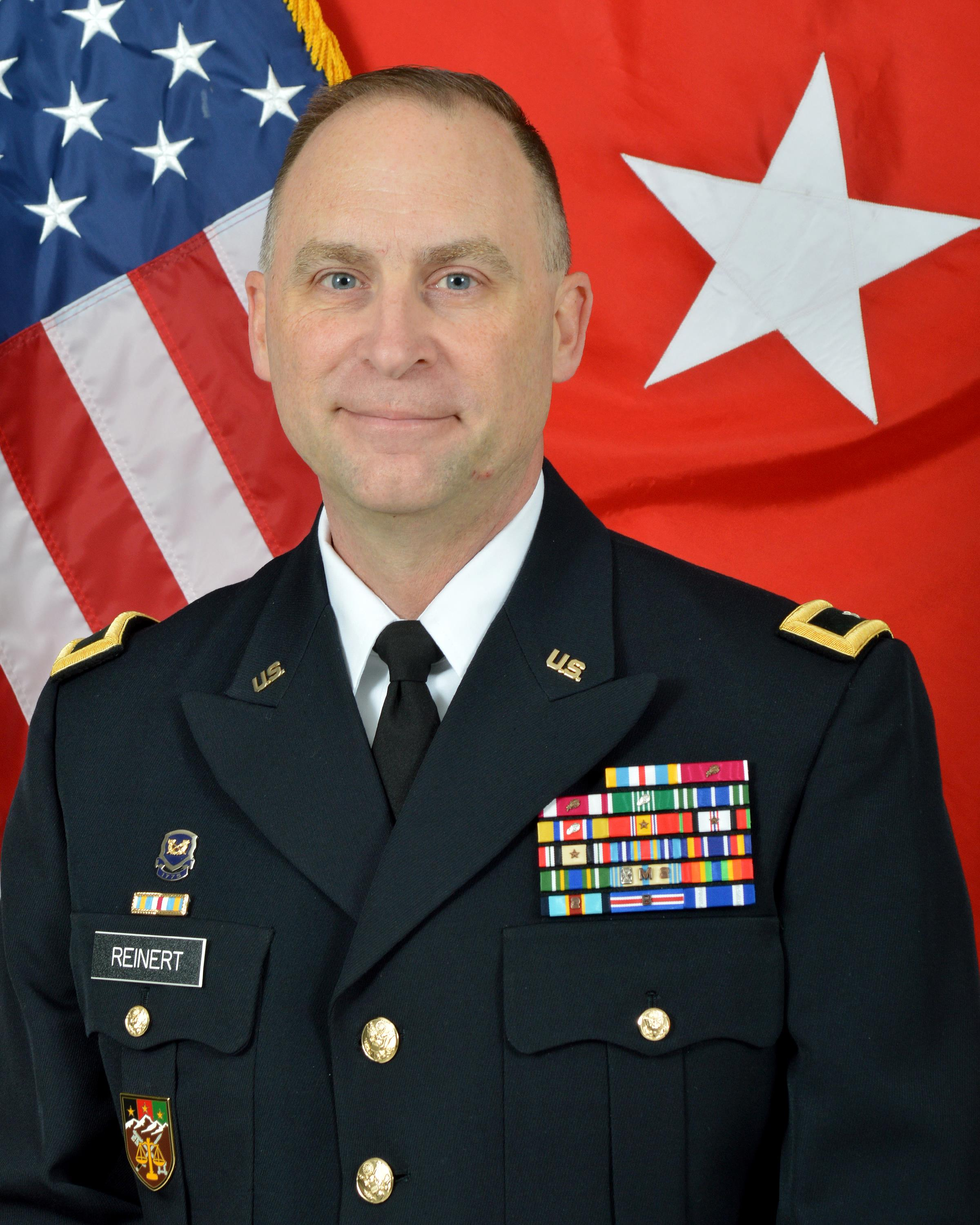 Major General Patrick J Reinert & Gt Us Army Reserve