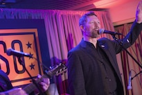 Country music singer and Army veteran Craig Morgan performs during the USO 75th anniversary reception in Washington, D.C., Feb. 4, 2016. DoD photo by Navy Petty Officer 2nd Class Dominique A. Pineiro
